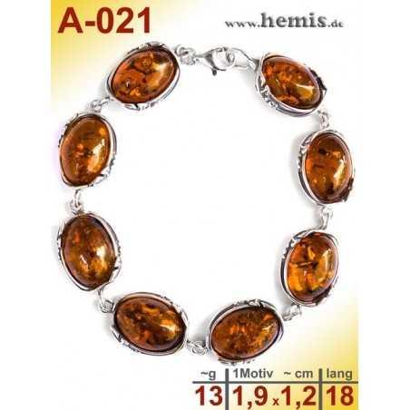 A-021 Amber Bracelet, Amber jewelry, silver-925