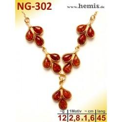 NG-302 amber necklace,...