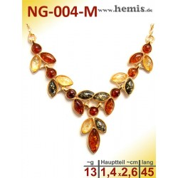 NG-004-M amber necklace,...