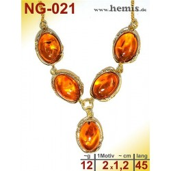 NG-021 amber necklace,...