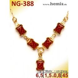 NG-338 amber necklace,...