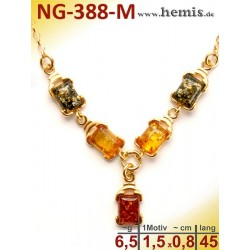 NG-338-M amber necklace,...