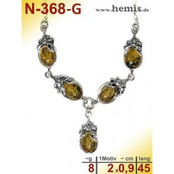 N-368-G Necklace Sterling...