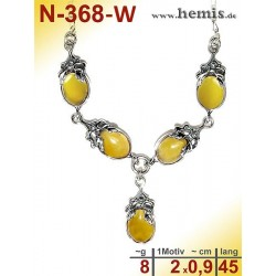 N-368-W Necklace Sterling...