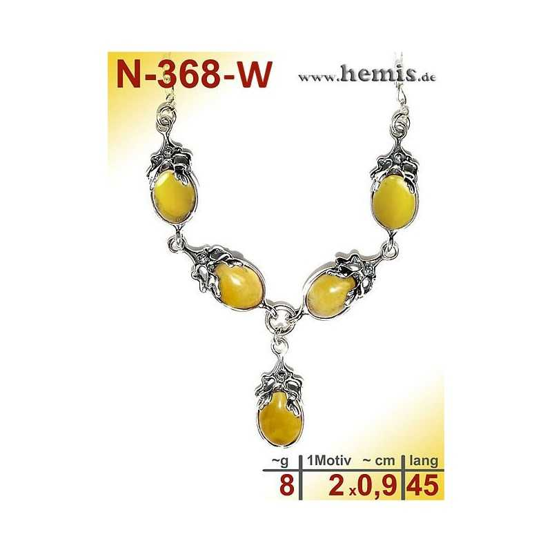 N-368-W Necklace Sterling silver 925