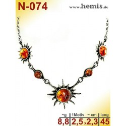 N-074 Necklace Sterling...