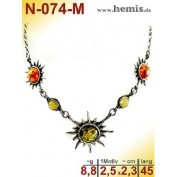 N-074-M Necklace Sterling...