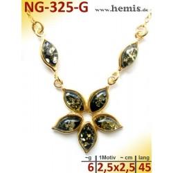 NG-325-G amber necklace,...