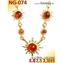 NG-074 amber necklace,...