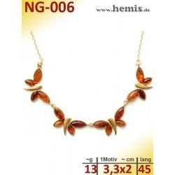 NG-006 amber necklace,...
