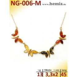 NG-006-M amber necklace,...