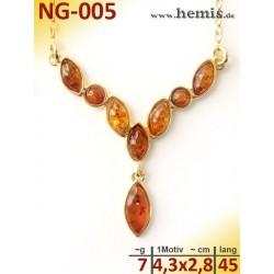 NG-005 amber necklace,...