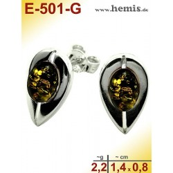 E-501-G Studs Sterling...