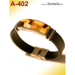 A-402 Bernstein-Armband mit...