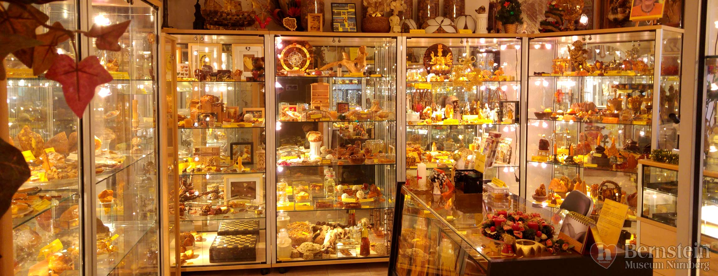 Amber shop Nuremberg